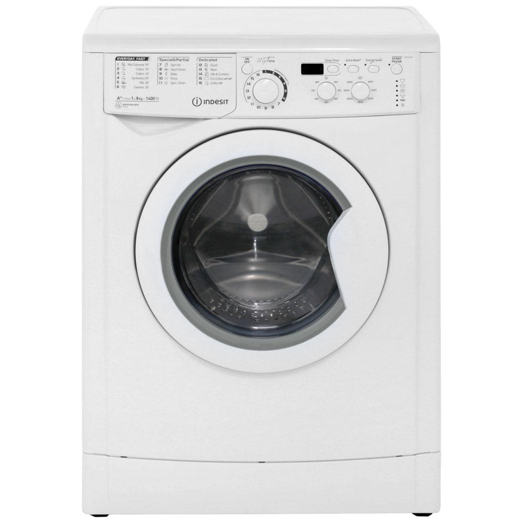 indesit my time ewd81482w 8kg washing machine with 1400. Black Bedroom Furniture Sets. Home Design Ideas