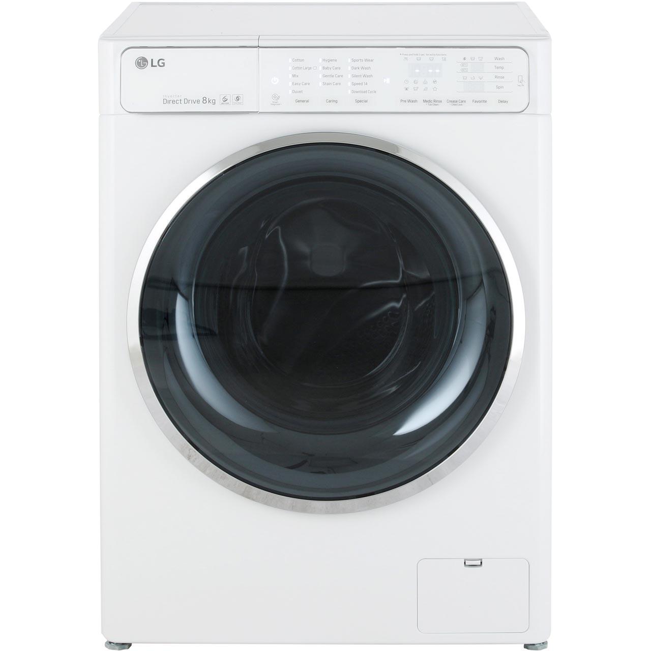 LG F14U1TCN2 8Kg Washing Machine with 1400 rpm Review