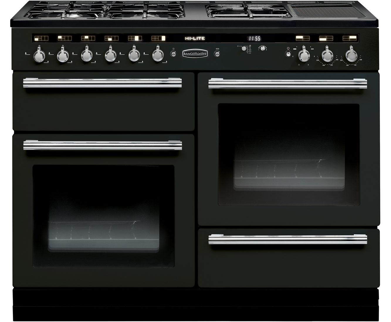 Rangemaster Hi-Lite HLT110DFFBL/C 110cm Dual Fuel Range Cooker Review